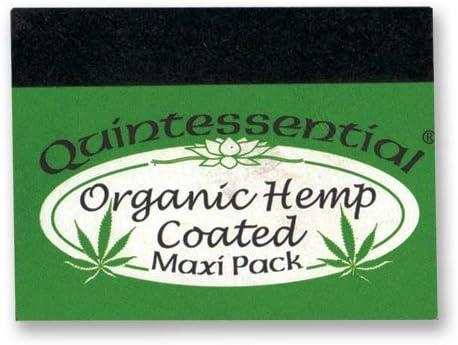 Quintessential Organic Hemp Coated Filtro Consejos (papel de liar)