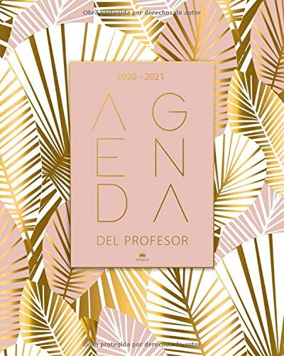 Agenda Del Profesor 2020 2021: Cuaderno del Profesor y Agenda 2020 - 2021 - Agendas Escolares para Profesores - Regalo para Profesora - Práctico Organizador para docentes: Amazon.es: Sonalo: Libros