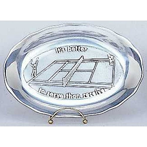 Tennis Pewter Bread Tray (Pewter Bread Tray)