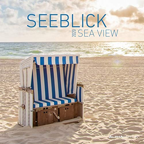 Seeblick 2020   Sea View   Broschürenkalender  30 X 60 Geöffnet    Strand Und Meer   Wandkalender   Landschaftskalender   Wandplaner   Küste