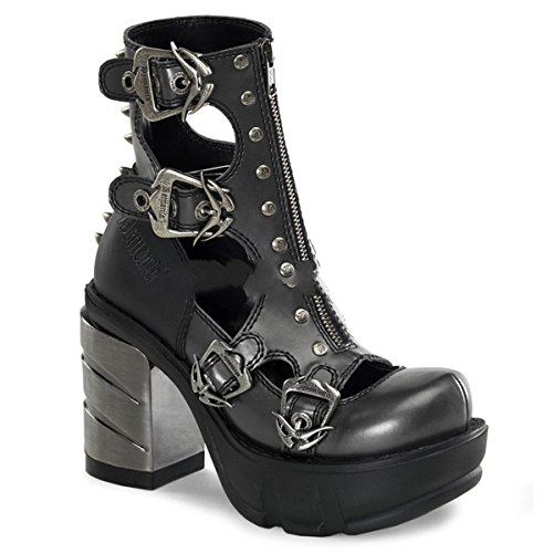 Sinister High Metall 36 Gothic Heels 43 Schuhe Demonia Industrial 61 dXw6qnRg