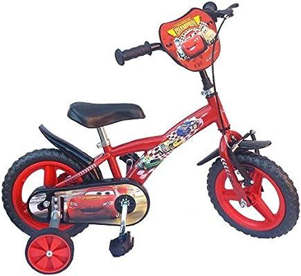 Toims – Bicicleta de Cars para niño, 12 Pulgadas – 3/4 años: Amazon.es: Deportes y aire libre