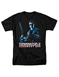 Terminator 2: Judgment Day Sci-Fi Action Film Poster Adult T-Shirt Tee