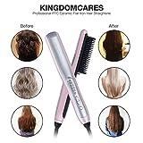 K-SKIN Hair Straightening Brush Hair Straightener