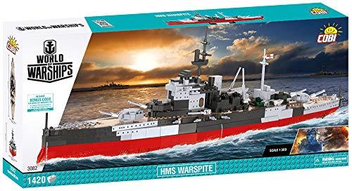 COBI World of Warships HMS Warsprite