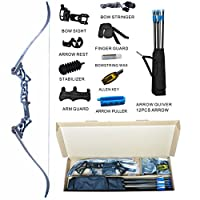 Topint Archery Takedown Recurve Bow Pack...