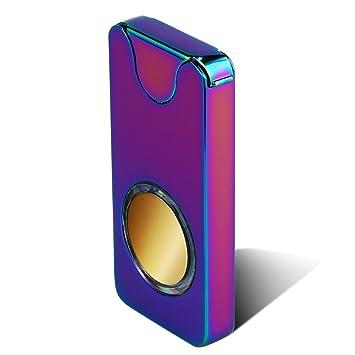 Kivors Encendedor eléctrico, Encendedor láser de Rayos Infrarrojos, Recargable por USB, Resistente al Viento, Encendedor de Cigarrillos de Plasma de ...