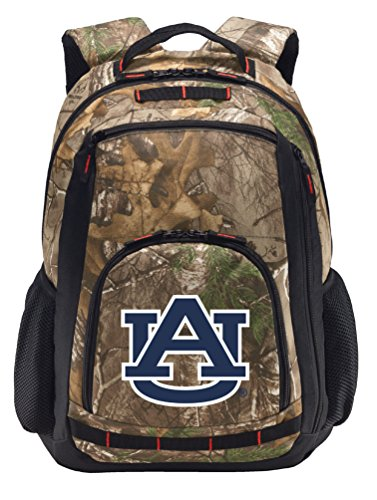 Broad Bay Auburn University Camo Backpack Realtree Auburn Tigers Backpacks - Laptop Section!