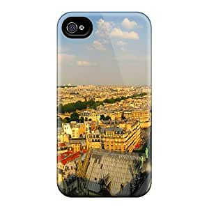 New LKw26013QZaP Cathedral Between Two Rivers Skin Cases Covers Shatterproof Cases Iphone 4/4S