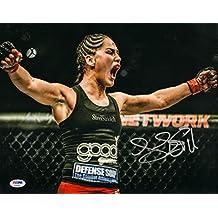Jessica Eye Signed UFC 11x14 Photo COA Picture Autograph Evil 166 170 - PSA/DNA Certified - Autographed UFC Photos