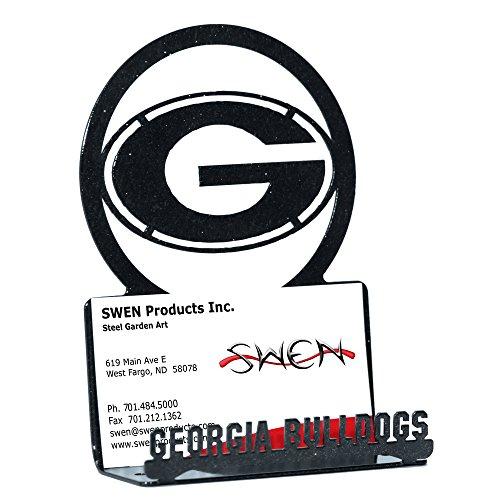 SWEN Products GEORGIA BULLDOGS Business Card - Business Card Bulldog
