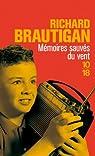 Mémoires sauvés du vent par Brautigan