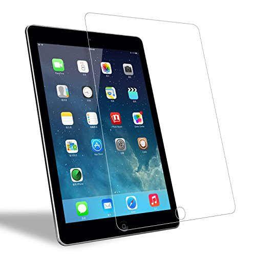 Hi-Luck iPad Air/iPad Air 2 / iPad Pro Screen Protector,Tempered Glass Screen Protector Film 9.7 Inch for iPad Air/iPad Air 2 / iPad Pro-Transparent