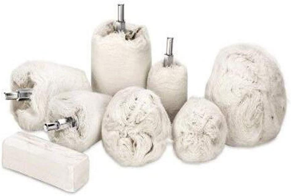 6 mm caña de algodón discos de pulido paño pulidor lijadora para ...
