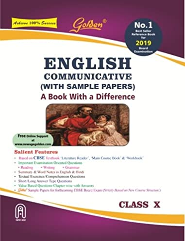 golden english communicative with sample papers a book with rh amazon in cbse 10th class english golden guide free download english golden guide for class 10 cbse online