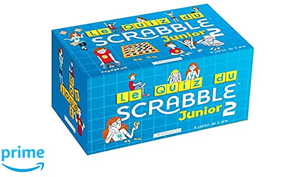 Quiz Scrabble Junior 2 (Boîtes Quiz): Amazon.es: Meyer, Aurore ...