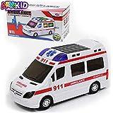 Ambulância de luz 3D Carro brinquedo com Luz Sons e Movimento Presente Meninos