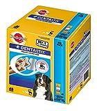 Купить Pedigree DentaStix Hundesnack für große Hunde (25kg+), Zahnpflege-Snack mit Huhn und Rind, 1 Packung je 56 Stück (1 x 2.16 kg)