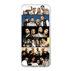 Retro Vintage Aventura Custom Cover Case for IPod Touch 5 TPU (Laser Technology)