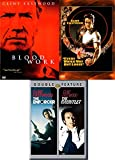 FBI Profiler Clint Eastwood Collection Dirty Harry Enforcer / Gauntlet + Blood Work + Every Which Way But Loose 4 Movie Bundle Feature pack