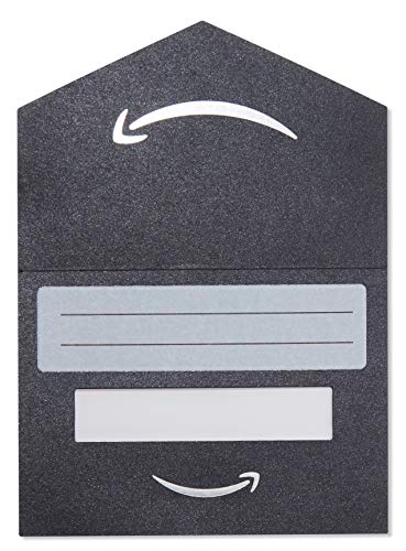 Amazon.com $25 Gift Card in a Black and Silver Mini Envelope - Pack of five