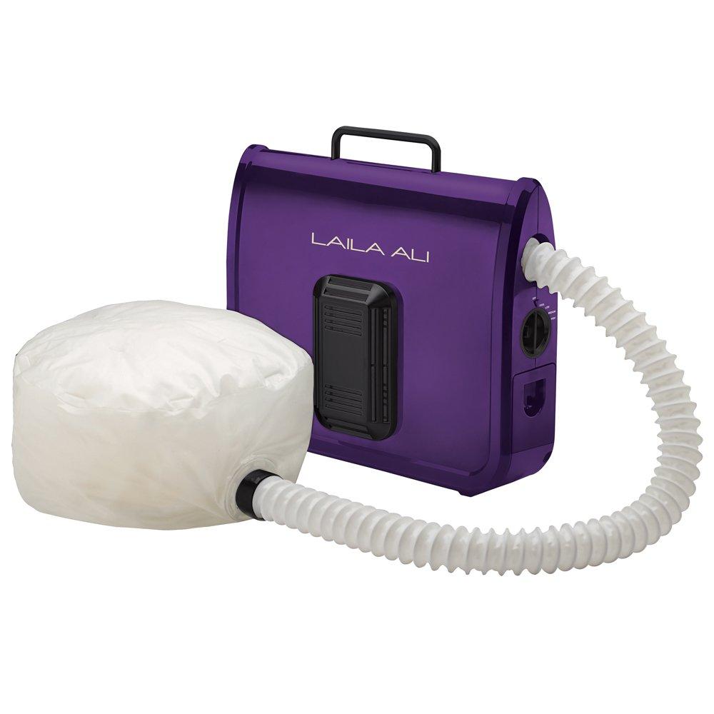 Laila Ali LADR5604 Ionic Soft Bonnet Dryer, Purple with White Bonnet