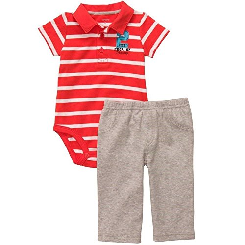 carters-baby-boys-6-months-striped-orange-polo-shirt-property-of-mommy-pants-set