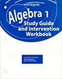 Algebra 1, Study Guide and Intervention Workbook, McGraw-Hill Staff, 0078803055