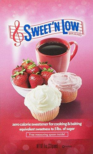 Sweet N Low,  Zero Calorie Sweetener, Sugar Substitute, 8 oz. Box, 6 Pack