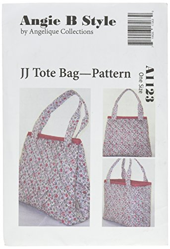 Angies Collection (Angie B Style by Angelique Collections Pattern Tote Bag, One Size)