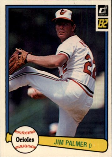 1982 Donruss Baseball Card #231 Jim Palmer Near Mint/Mint (Card Palmer Jim)