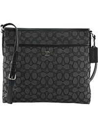 Women's Outline Signature File Crossbody Bag, Style F58285