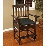 American Heritage Billiards King Billiard-Game Room Chair 387217, Brown