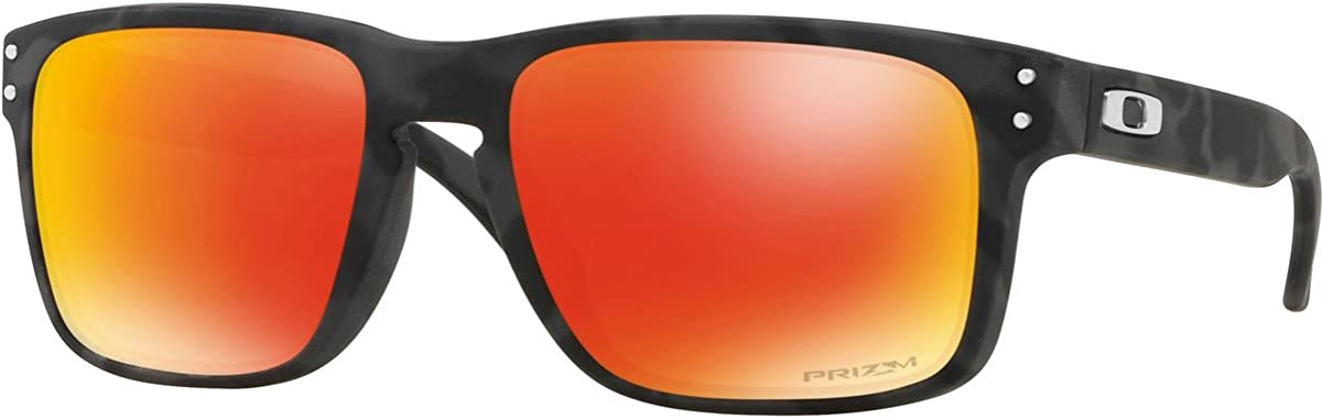 OAKLEY Holbrook 9102e9 Gafas de Sol, Black Camo, 57 para Hombre