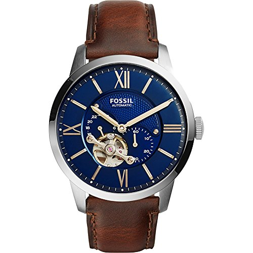 Fossil Townsman Automatic Leather Watch