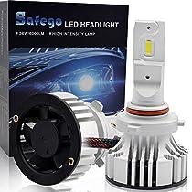 H4 H7 H11 9005 9006 LED Car Headlight Bulbs Kit 4000LM 6000LM CSP 8000LM COB Chip Auto LED Light Conversion Kit 12v Replace for Car Halogen Lights or HID Bulbs