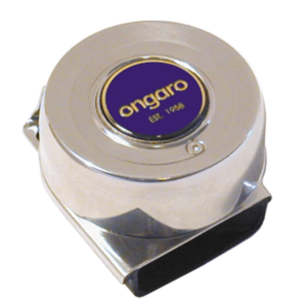 Ongaro SS Mini Compact Single Horn - 12V - 1 Year Direct Manufacturer Warranty