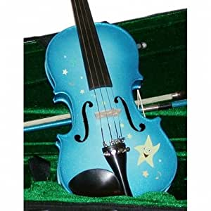 Rozanna's Student Violin Outfit - Twinkle Star Blue, 1/16th