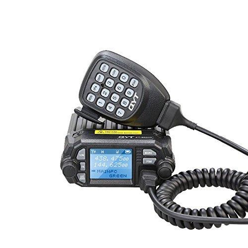 XIHADA QYT KT-8900D (Upgraded 2nd Gen.) Mobile Transceiver Dual Band QUAD Standby VHF/UHF 136-174/400-480MHz Mini Car Radio Amateur Car Radio (Vhf Radio Small)