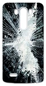 Cool Design Abstract Batman Black Case Cover for LG G3 (Laser Technology) by runtopwell