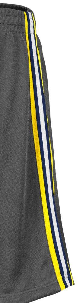 Colosseum NCAA Men/'s Grey Santiago Synthetic Shorts