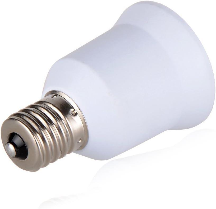 SpiritLED E17 to E26 E27 Adapter,Fan Light Socket E17 to Standard Medium Scoket E26 E27 Converter 12-Pack