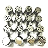 (1 Piece) One batch forming Stainless Steel Russian Tulip Nozzle For Cake Cupcake Decorating Icing Piping Nozzles Rose Tips