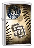 Zippo MLB San Diego Padres Brushed Chrome Lighter