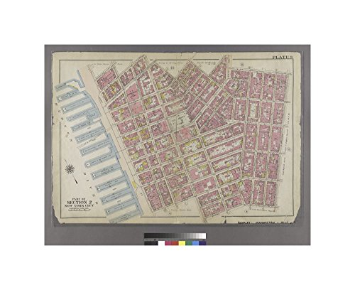 1911 map of Philadelphia Plate 9: Bounded by Charles Street, Washington Street, W. 10th Street, Hudson Street, Christopher Street, Bedford Street, Barrow Street, Bleecker Street, Cornelia Street, - 9 Bleecker Street New York