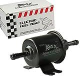 inline 12 volt fuel pump - Universal 12V Low Pressure Gas Diesel Inline Electric Fuel Pump HEP-02A 2.5-4 PSI