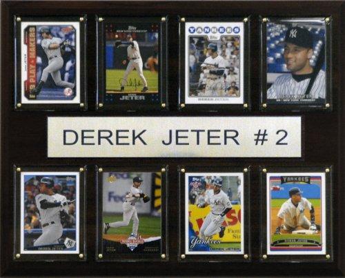 - MLB Derek Jeter New York Yankees 8 Card Plaque