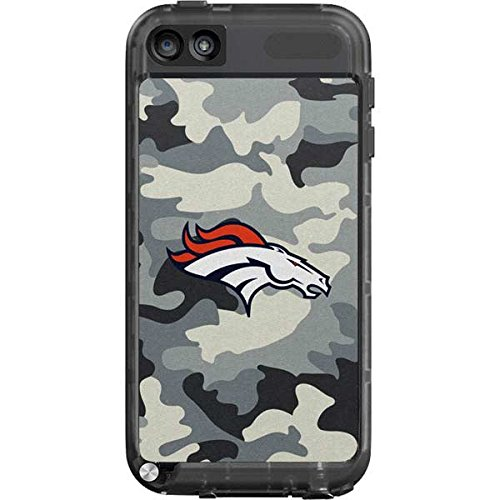 Skinit Denver Broncos Camo LifeProof fre iPod Touch 5th Gen Skin for CASE - Officially Licensed NFL Skin for Popular Cases Decal - Ultra Thin, Lightweight Vinyl Decal Protection (Ipod Touch Denver Broncos Case)
