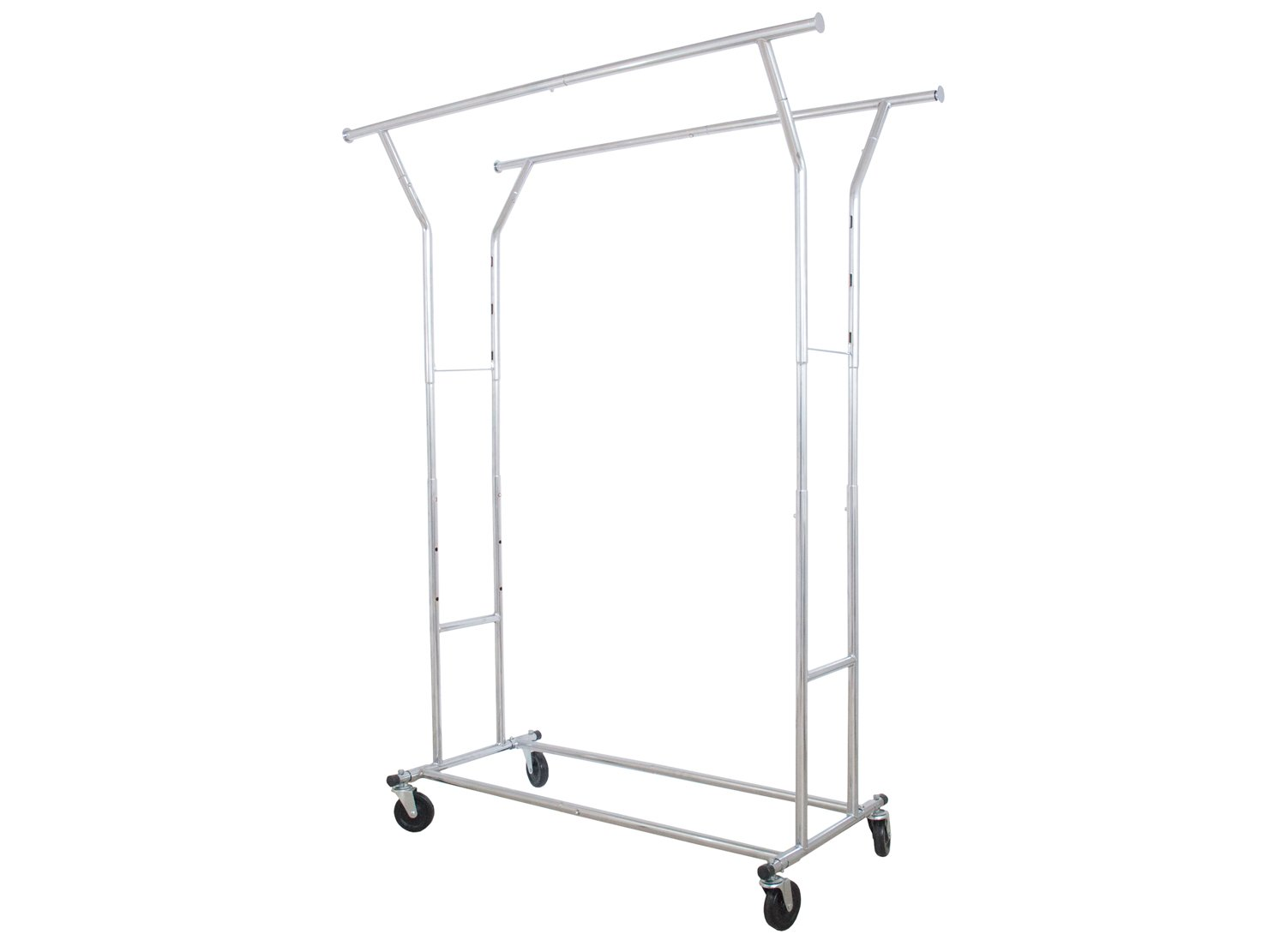 ForHauz Commercial Clothes Garment Rack Single or Double Rail