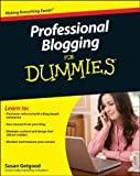 img - for Professional Blogging For Dummies by Susan Getgood (2010-07-26) book / textbook / text book